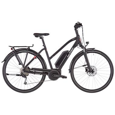 Vélo de Voyage Électrique ORTLER BOZEN TRAPEZ Femme Noir 2020